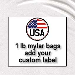 18 or 36 one-pound mylar bags (unlabeled)